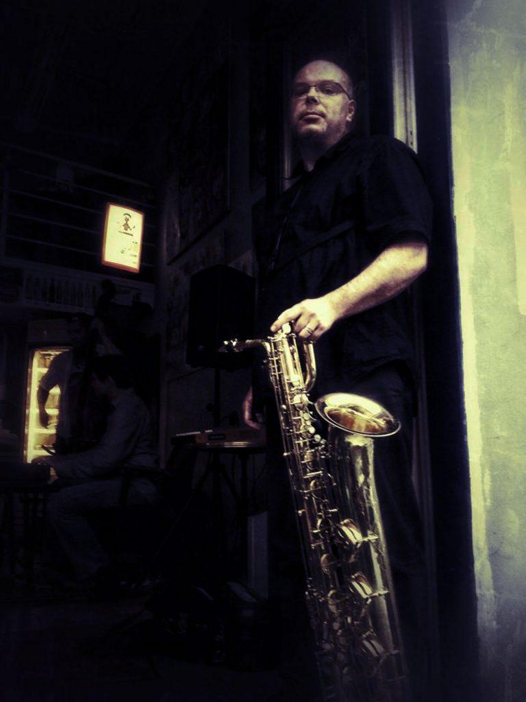 Saxofonista Erik Rothenstein